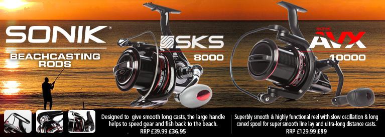 Sonik SKS 8000 and AVX 10000 Reels