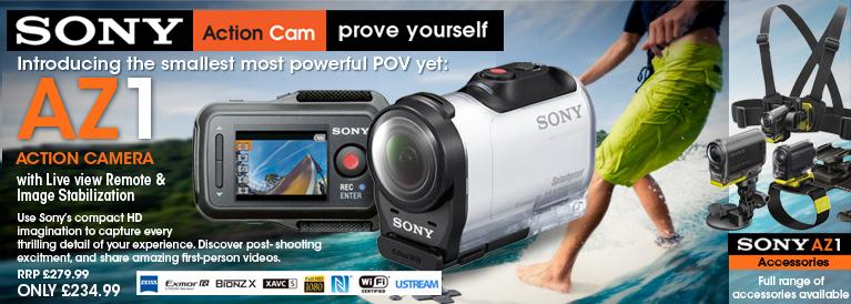 Sony AZ1 Action Cam Mini & Live View Remote
