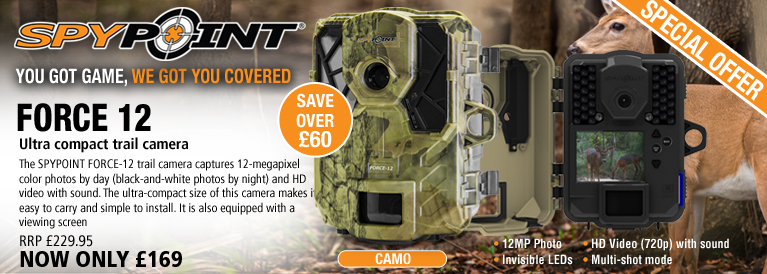 SpyPoint FORCE-12 Trail/Surveillance Camera - Camo