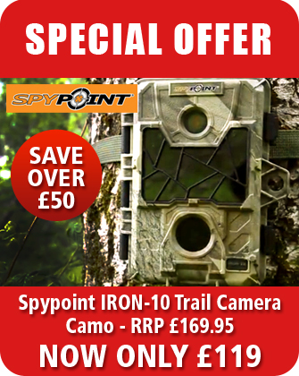 SpyPoint IRON-10 Trail/Surveillance Camera - Camo