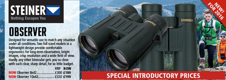 Steiner Observer  Binoculars - Black
