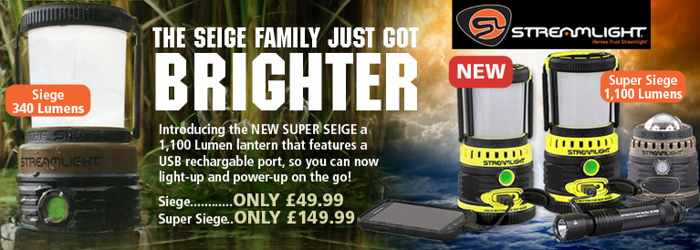 Streamlight Siege Family