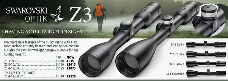 Swarovski Optik Z3 Riflescopes