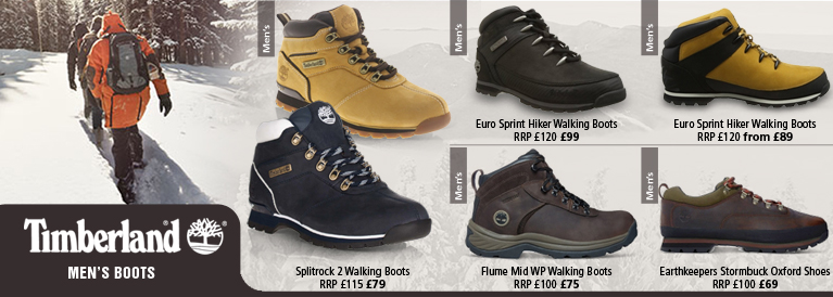Timberland Mens Autumn / Winter Hiking Boots