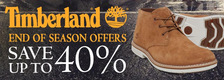 Timberland End of Season Offers