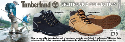 Timberland Splitrock Walking Boots