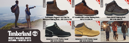 Timberand Walking Boots