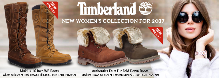Timberland Women's Authentics Faux Fur Fold Down Boots or Mukluk 16 Inch WP Boots