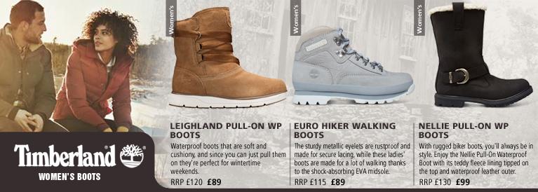 Timberland Womens Autumn / Winter Shoes