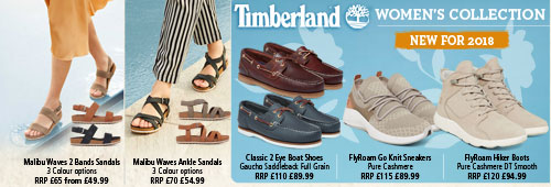 Timberland Women's Spring / Summer Collection