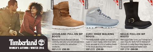 Timberland Womens Autumn / Winter Shoes