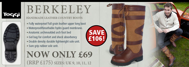 Toggi Berkeley Womans Country Boots