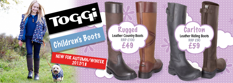 Toggi Children's Leather Boots