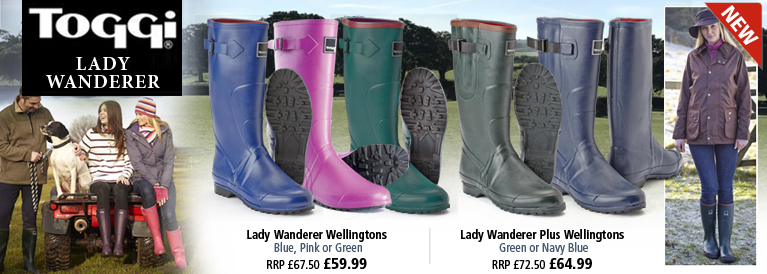 Toggi Lady Wanderer Plus Wellingtons