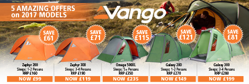 Vango 5 Amazing Offers