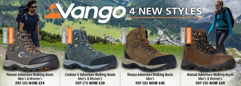Vango Footwear Range
