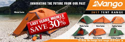 Vango 2017 Tent Range
