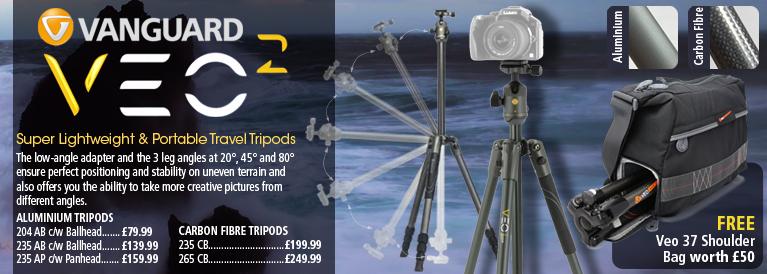 Vanguard Veo 2 Tripods