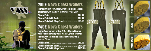 Vass 700E and 740E Waders