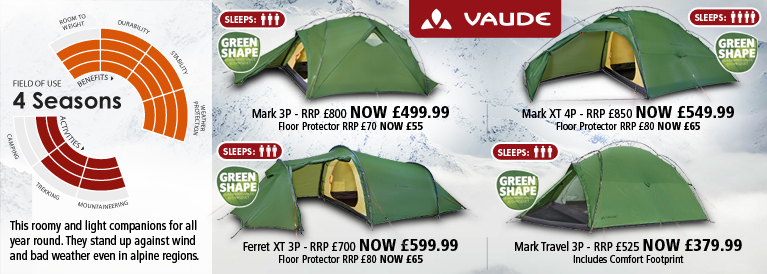 Vaude 4 Season Tents