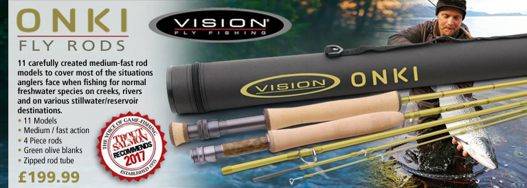 Visio Onki Fly Rods