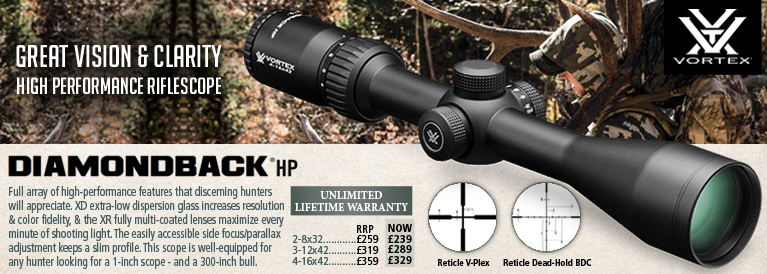 Vortex Diamondback HP Riflescopes