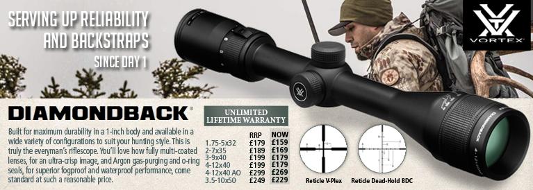Vortex Diamondback Riflescopes