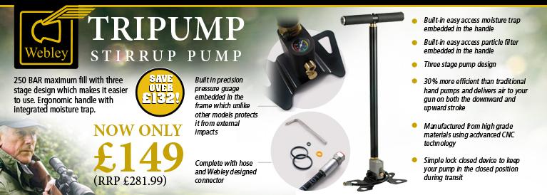 Webley TriPump Stirrup Pump
