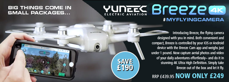 Yuneec Breeze #myflyingcamera 4K Drone