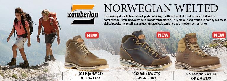 Zamberlan Norwegian Welted Boots