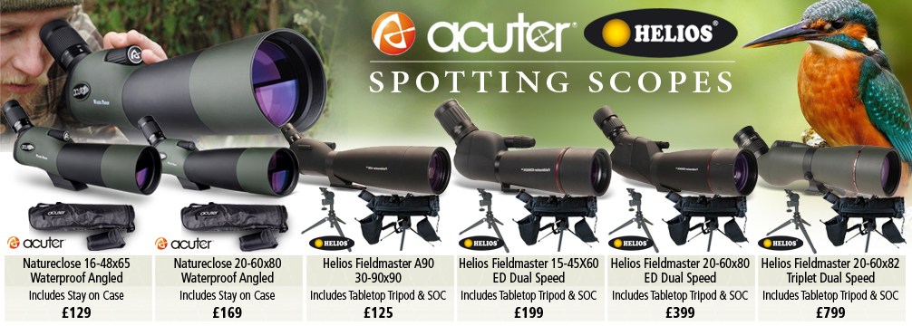 Acuter and Helios Spotting Scopes