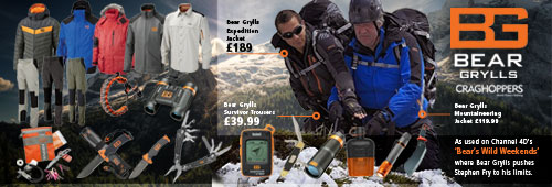 Bear Grylls Endorsed Products