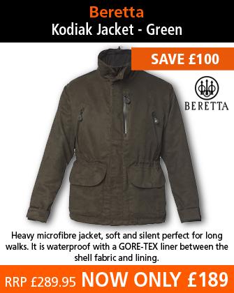 Beretta Kodiak Jacket - Green