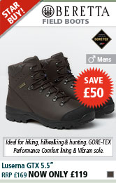 Beretta Luserna Leather GTX 5.5 Inch Walking Boots - Brown
