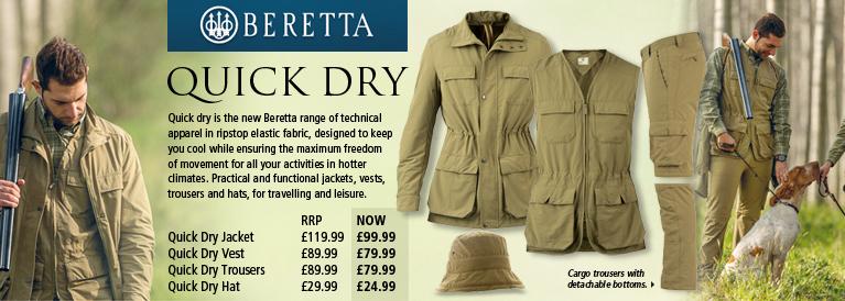 Beretta Quick Dry Series