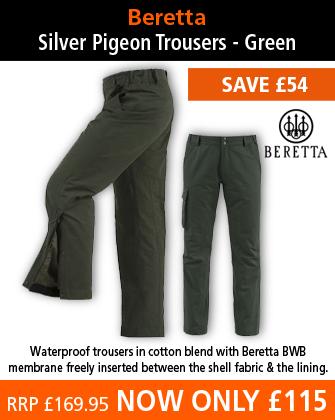 Beretta Silver Pigeon Trousers - Green
