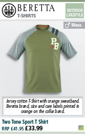 Beretta Two Tone Sport T Shirt - Green