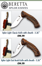 Beretta Xplor Knives