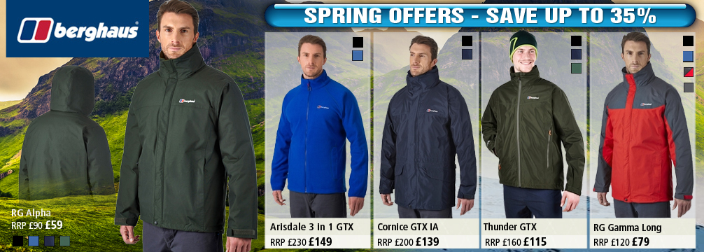 Berghaus Mens Jackets