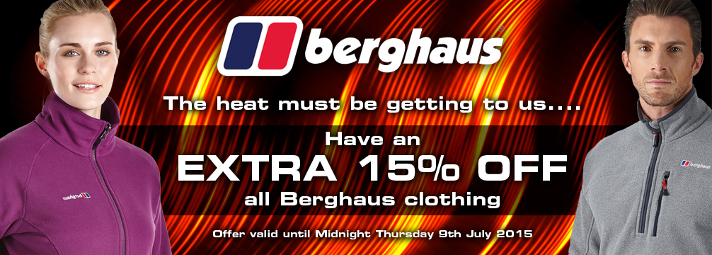 Berghaus we must be mad Offer