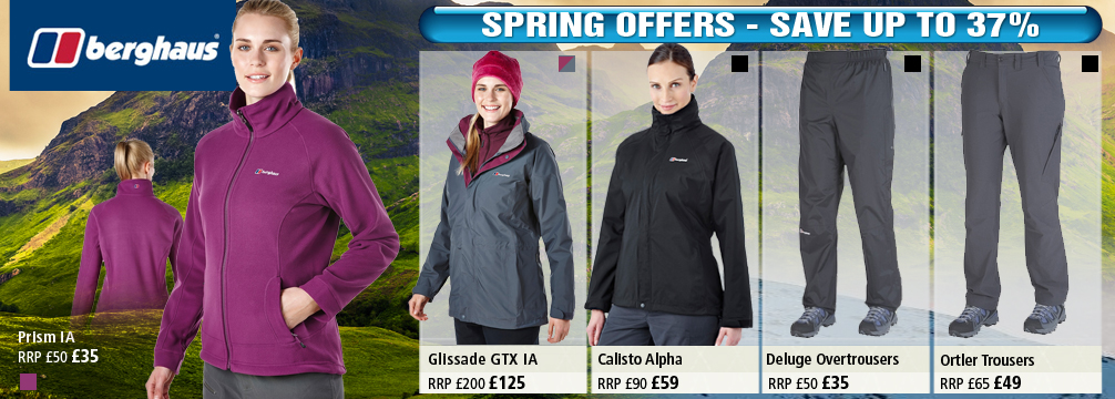 Berghaus Womens Clothing