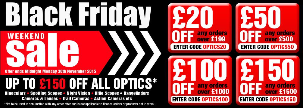 Black Friday Sale Optics
