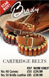 Brady Cartridge Belts