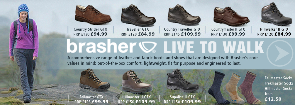Brasher Hiking Boots