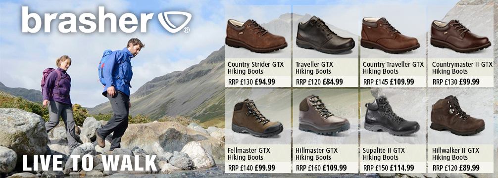Brasher Hiking Boots