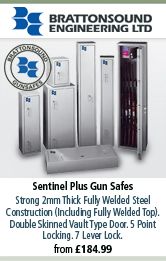 BrattonSound Sentinal Plus Gun Safes