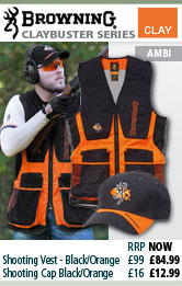 Browning Claybuster Clothing
