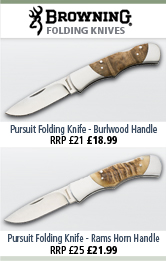 Browning Pursuit Folding Knives