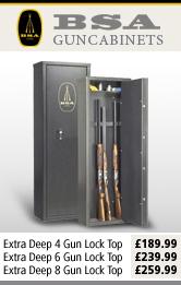 BSA Extra Deep Gun Cabinets