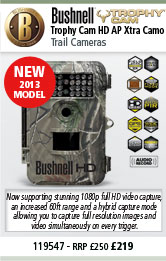 Bushnell Trophy Cam HD AP Xtra Camo New 2013 Model